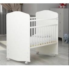 Кроватка Агат Золушка 8 (Юкка Стандарт) качалка на колёсиках