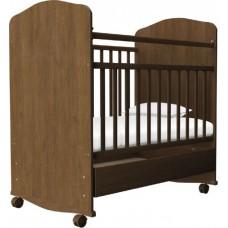 Кроватка Агат Золушка 9 (Юкка Стандарт Плюс) качалка с ящиком