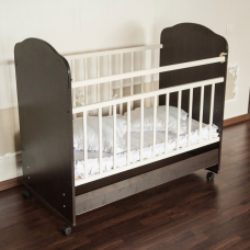 Кроватка качалка с ящиком Агат Юкка Стандарт Плюс (Золушка 9)