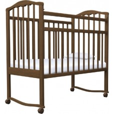 Кроватка качалка на колёсиках Агат Канна Стандарт (Золушка 1)
