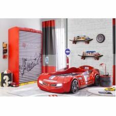 Детский трехстворчатый шкаф Champion Racer