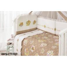 Комплект постельного белья Perina Тиффани 3 предмета сатин