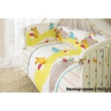 Комплект в кроватку Perina Кроха 4 предмета сатин