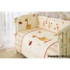 Комплект постельного белья Perina Кроха 3 предмета сатин