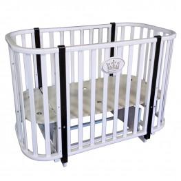 Круглая кроватка трансформер Кедр Estelle 2
