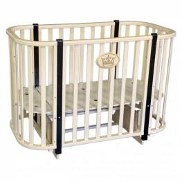 Круглая кроватка трансформер Антел Светлана 2