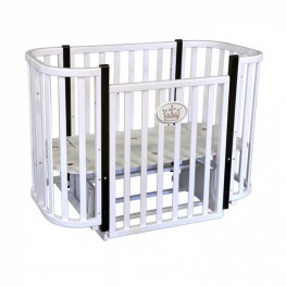 Круглая кроватка трансформер Антел Есения 2