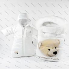 Комплект на выписку Makkaroni Kids Sweet Teddy 2 пр
